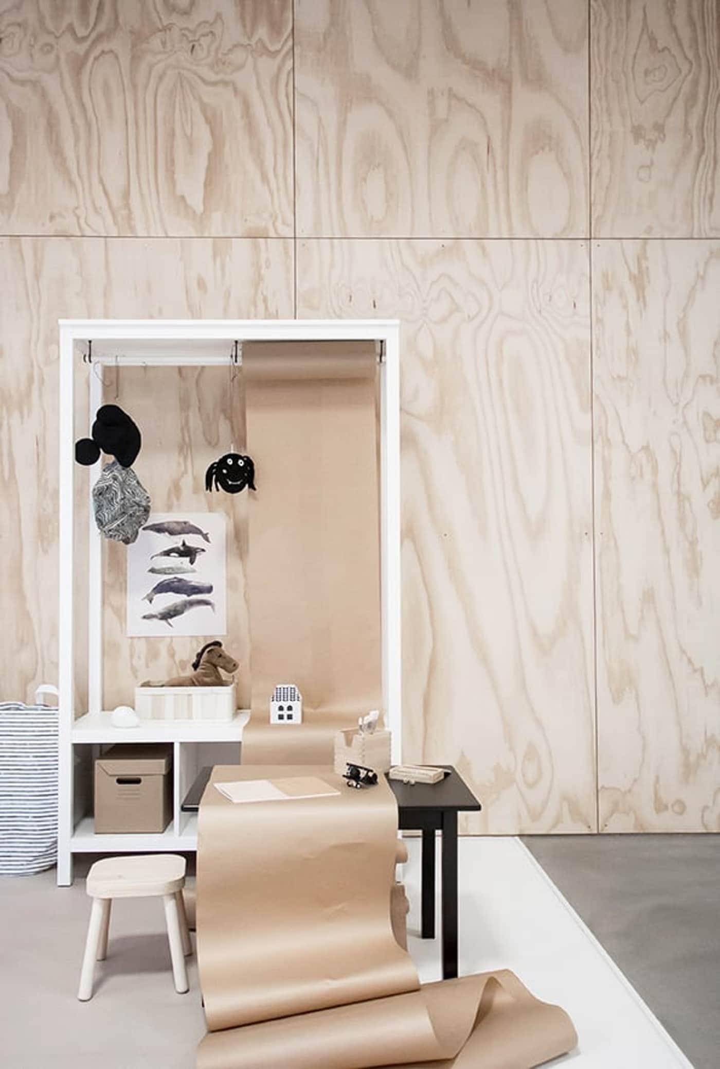 wandkast-inrichten-kinderplek-IKEA wooninspiratie