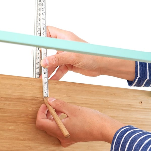 Wandkastje meten