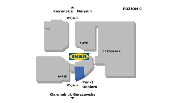 Warszawa - Punkt Odbioru Zamówień w CH Wola Park