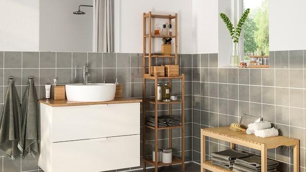 Wasser und Energie sparen im Badezimmer