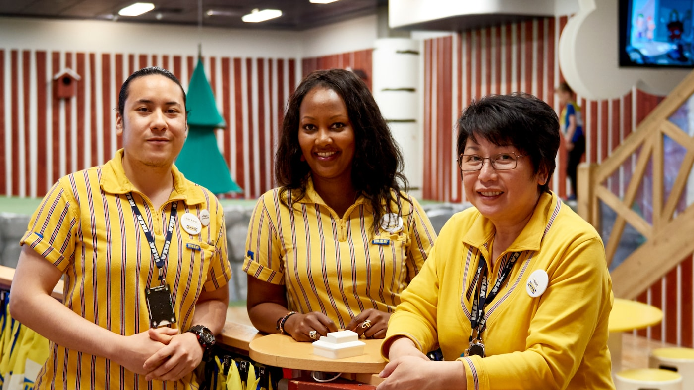 We want all IKEA co-workers to feel welcomed and respected, no matter where they come from.