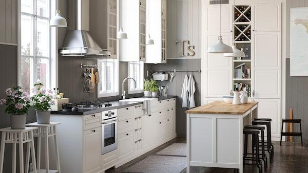 Kuche Im Landhausstil Ist Trend Ikea