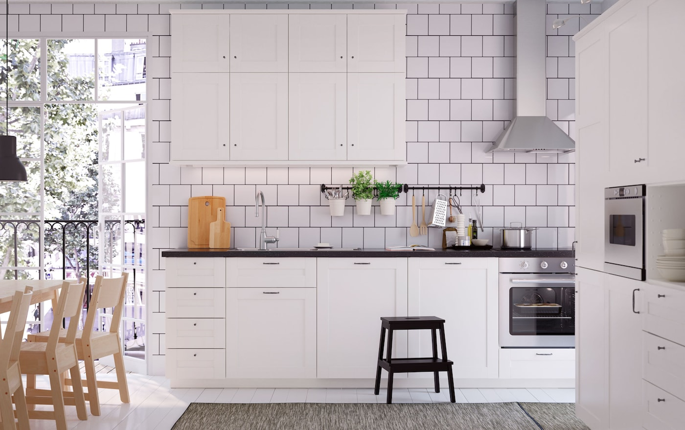 Die weißgeliebte küche ikea