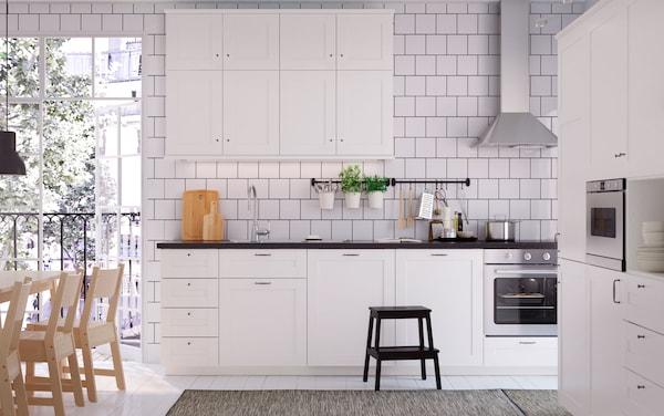Die weißgeliebte Küche - IKEA