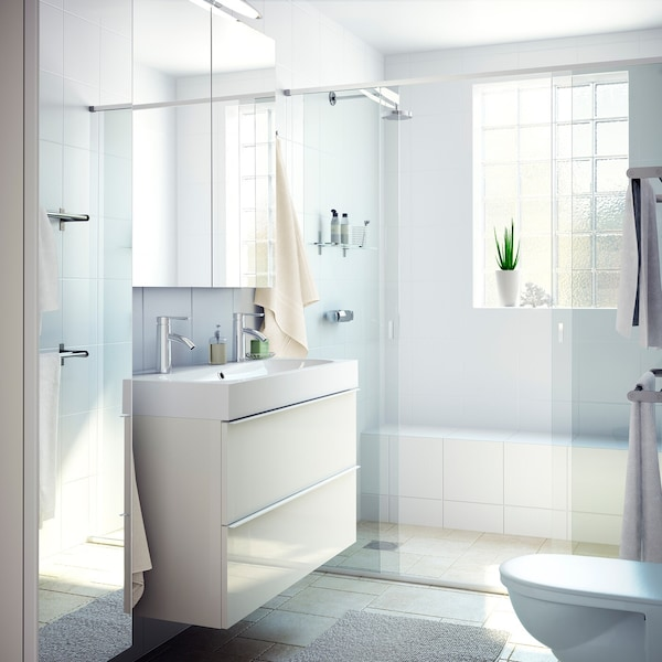 Inspiration Helles Badezimmer Mit Viel Licht Ikea Deutschland