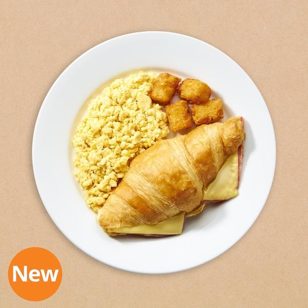 Western breakfast Set (Ham & Cheese, scrambled egg)