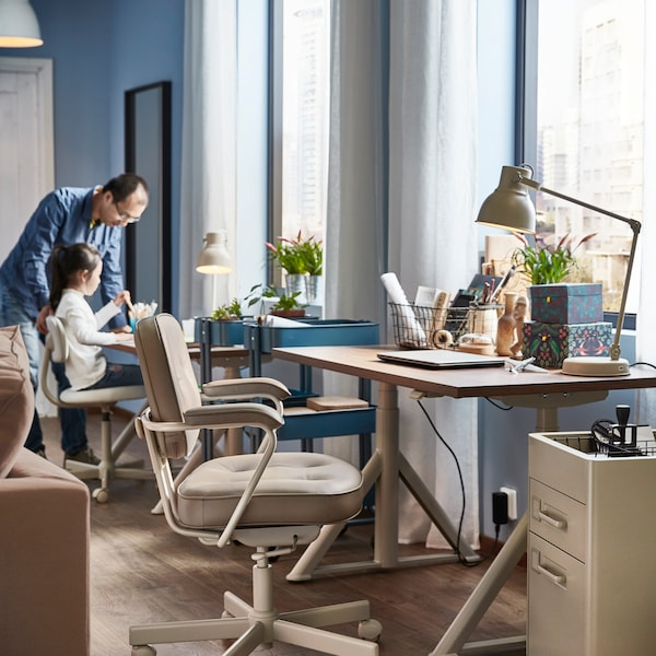 What to consider when setting up a home office.
