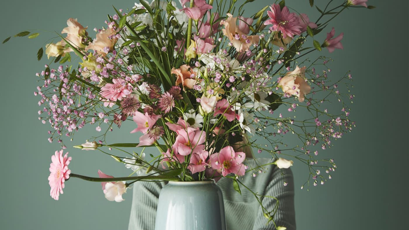Whether you put a single flower in a vase or fill your room with bouquets, our vases & bowls were designed to make your everyday happier.