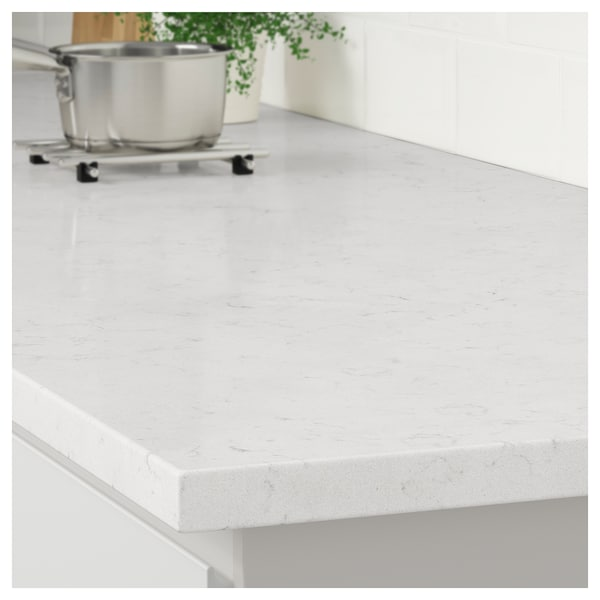 White marble effect