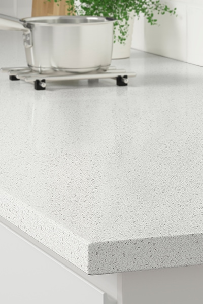 White mineral effect starting at $139.00/lf