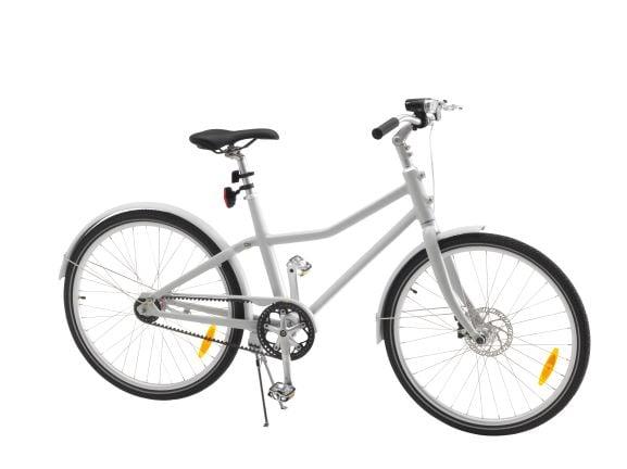 White SLADDA Bicycle