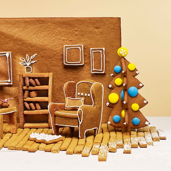 Win an IKEA gift card plus a gingerbread furniture kit!