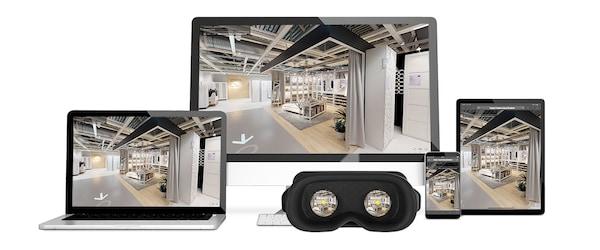 Wirtualny spacer po IKEA Kraków - VR IKEA