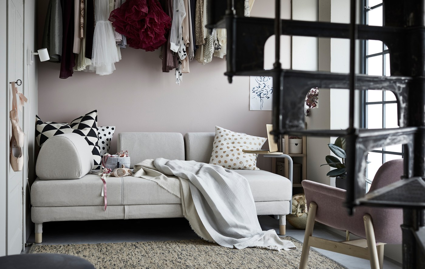 With an IKEA FLOTTEBO sleeper sofa, your living space will have a comfortable and and convenient center point. No matter activities you enjoy.