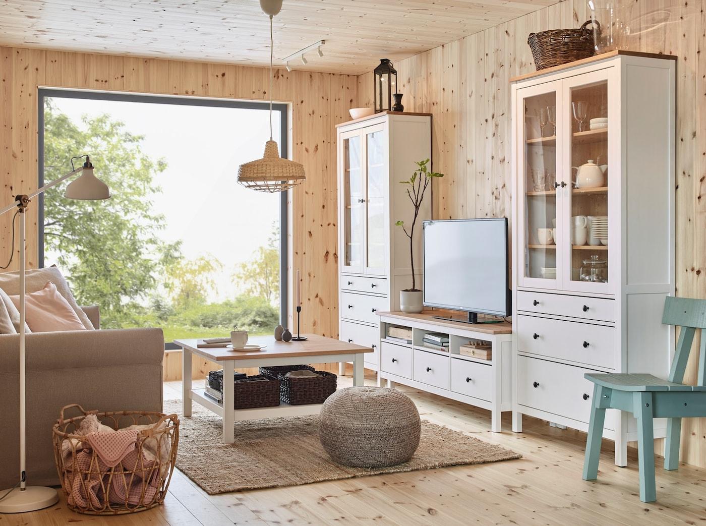 Ikea HEMNES für dein Wohnzimmer
