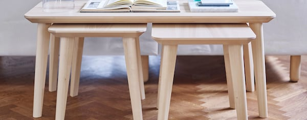 wooden furniture lisabo ikea