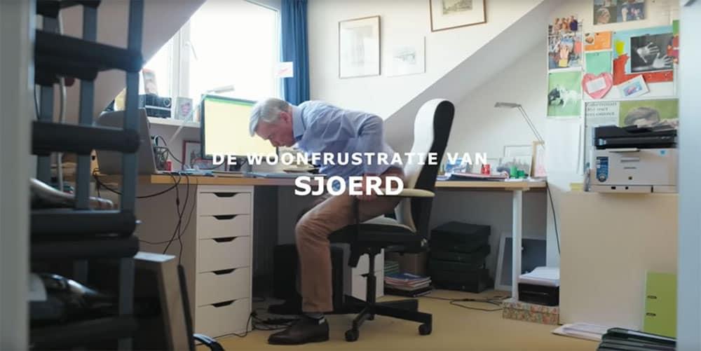 Woonfrustratie zolderkamer werkplek