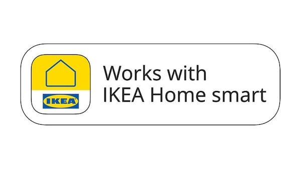 Works with IKEA Home smart badge.