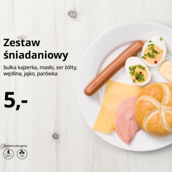 Wpadnij na pyszne śniadanie do IKEA Szczecin