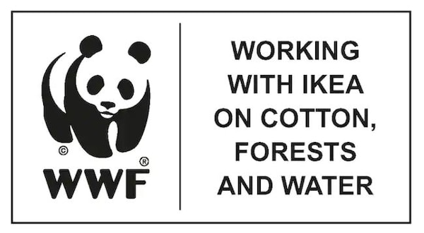 WWF is working with IKEA on cotton, forests and water.