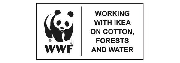 WWF współpracuje z IKEA w zakresie gospodarowania zasobami bawełny, drewna i wody.