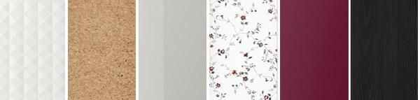 wybrane kolory drzwi szafy pax