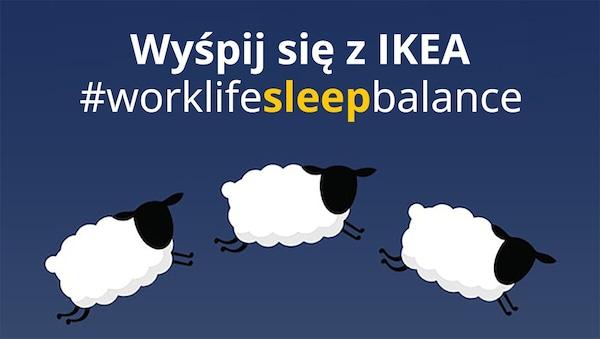 Wyśpij się z  IKEA