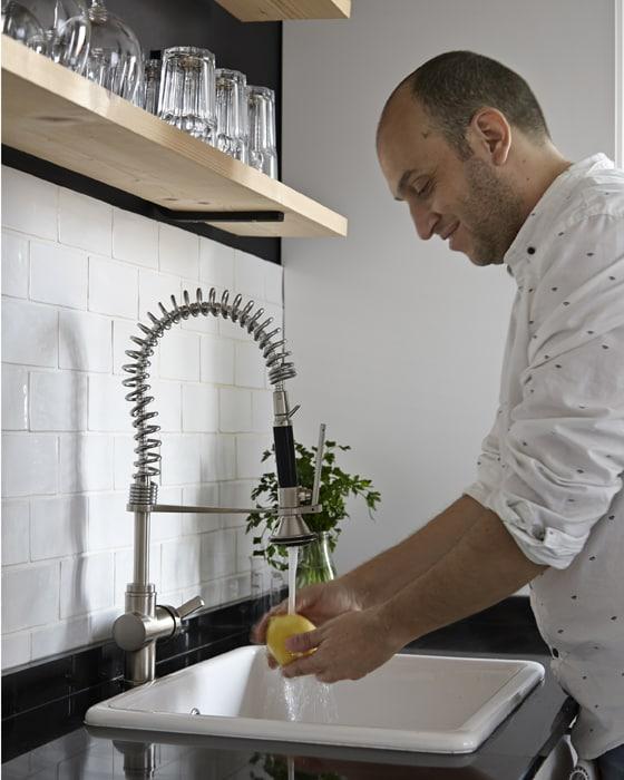 Wyznacz trójkąt roboczy, by zapewnić funkcjonalność i sprawną pracę w kuchni
