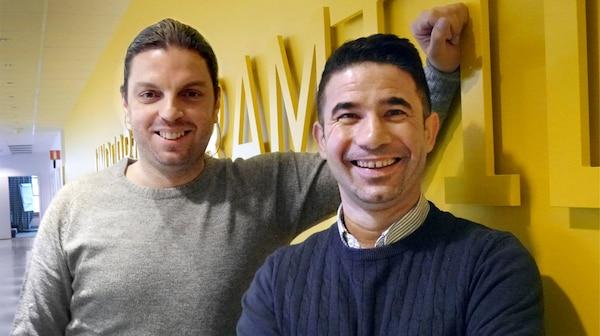 Yaser Alwili och Mohammad Al Heswani är väldigt nöjda med IKEA inkluderingsprogrammet för flyktingar.