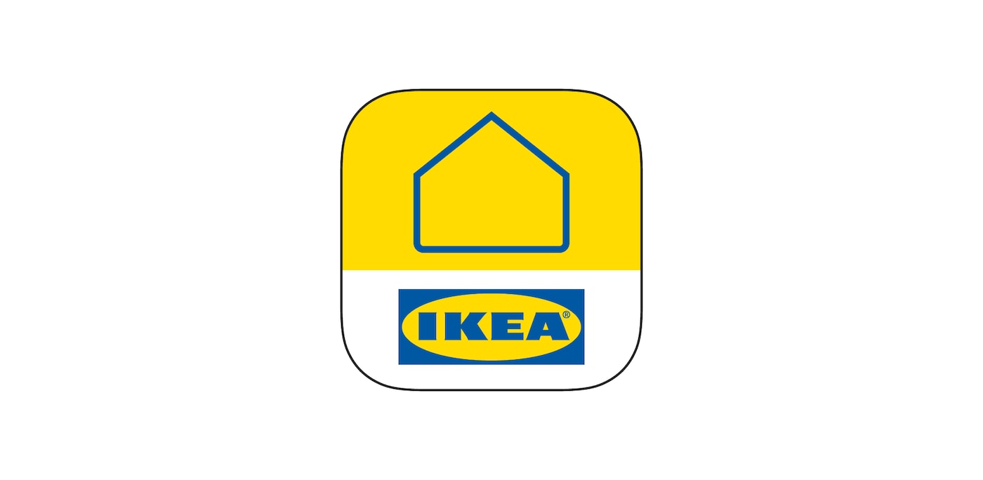 Yellow IKEA badge icon for the IKEA Home Smart app.