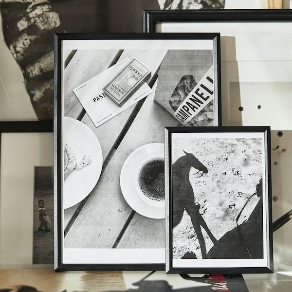 YLLEVAD Frame, black5x7