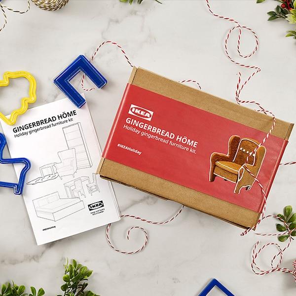 You could win an IKEA gift card plus an IKEA gingerbread furniture kit.