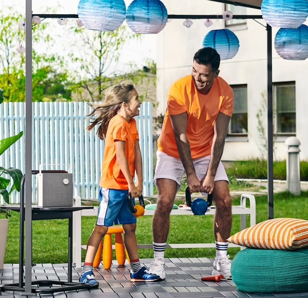 You're 5 steps away from an outdoor playroom