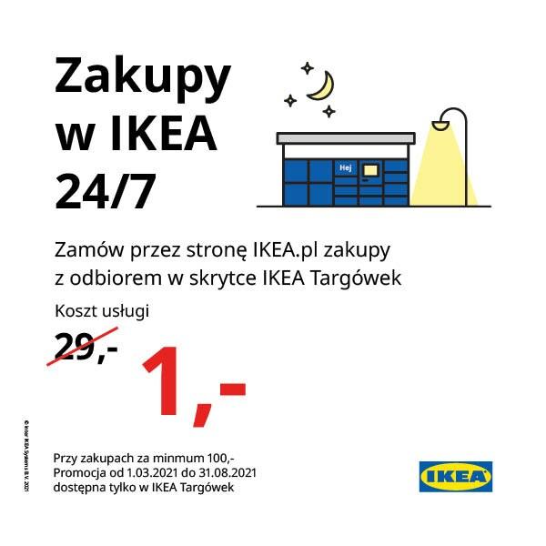 Zamów i odbierz w Skrytce IKEA