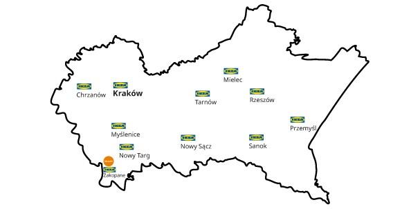 Zamów na IKEA.pl i odbierz w dowolnym punkcie IKEA