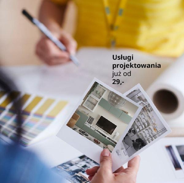 Zaprojektuj swoje wnętrze razem z projektantem IKEA. Zdalnie lub w sklepie.