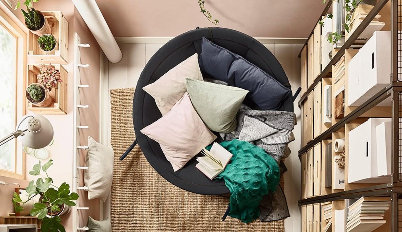 zenplek-in-je -huis-IKEA wooninspiratie