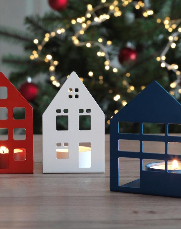 Зимняя коллекция подсвечники для греющей свечи