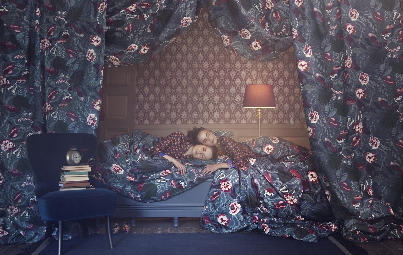 muster mix textil trends f r dein zuhause ikea. Black Bedroom Furniture Sets. Home Design Ideas