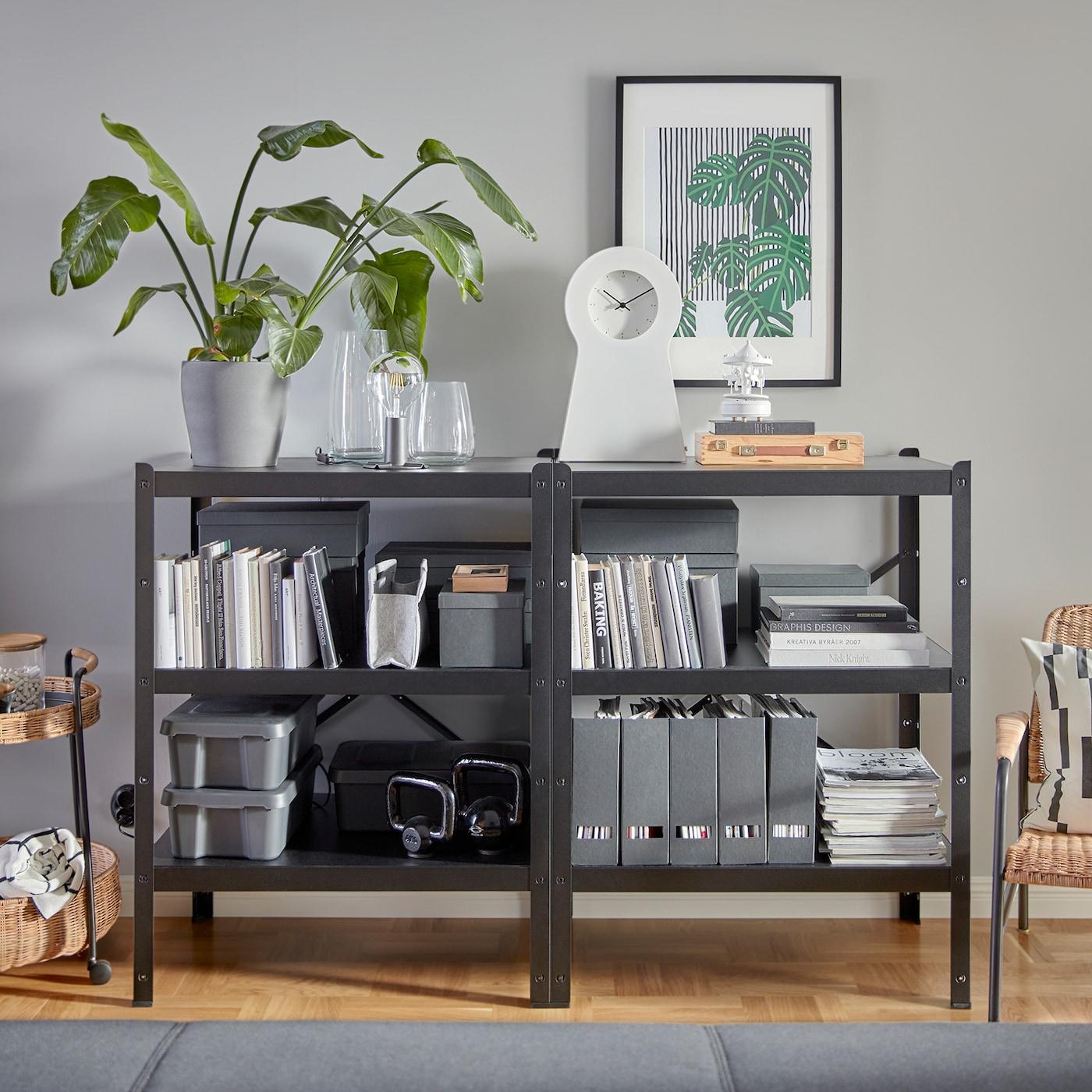 Kombiniertes Wohn und Esszimmer mit viel Luxus IKEA