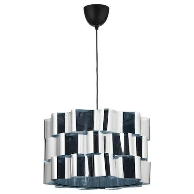 ÄLVSTARR / SUNNEBY Pendant lamp, chrome effect, 51 cm