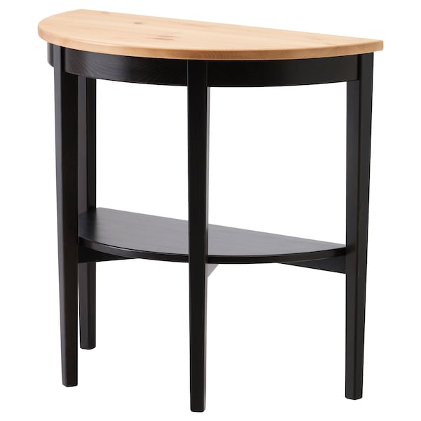 ARKELSTORP Window table, black, 80x40x75 cm