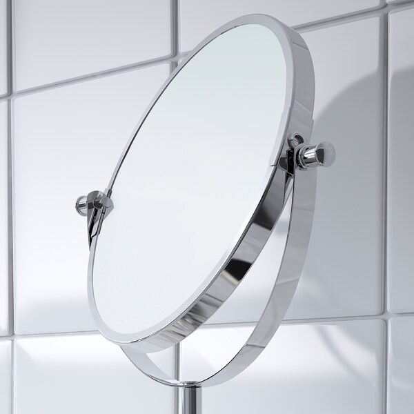BALUNGEN Mirror, chrome-plated, 21x36 cm
