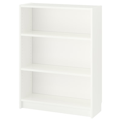 BILLY Bookcase, white, 80x28x106 cm