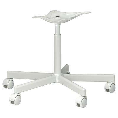 BLYSKÄR Chair frame, swivel, white