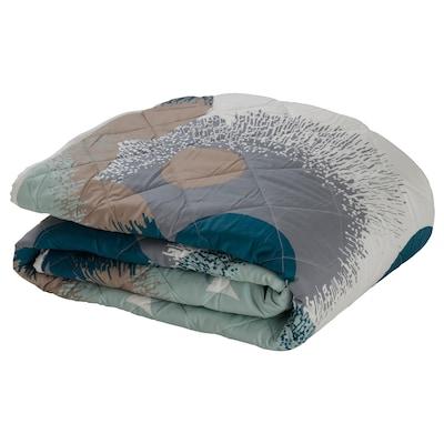 BOLLTISTEL Bedspread, blue, 150x200 cm