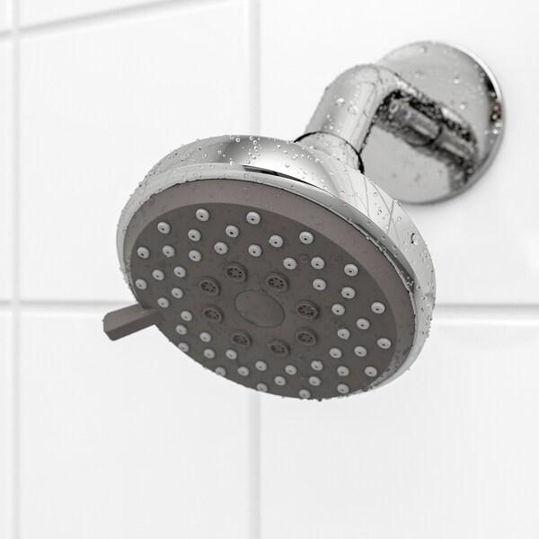 BROGRUND 3-spray showerhead, chrome-plated