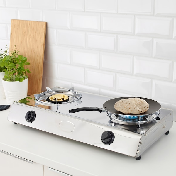 BRUNSOPP Flat pan, black, 27 cm