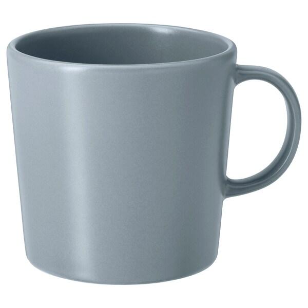 DINERA Mug, grey-blue, 30 cl