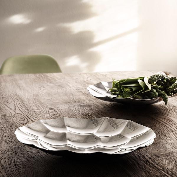 DRÖMSK Bowl, stainless steel, 33 cm